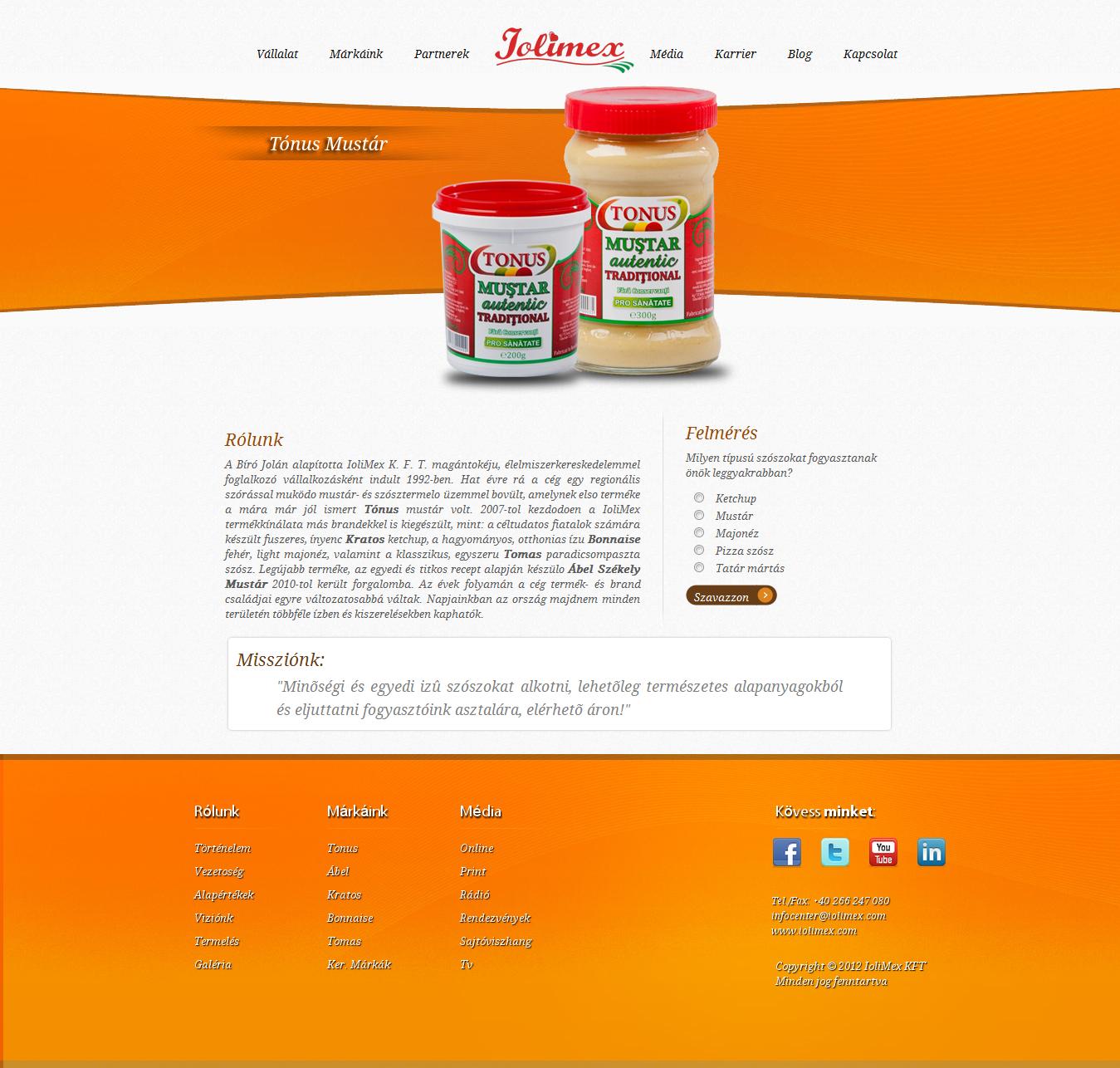 IoliMex Weboldal