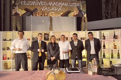 "Premii ""Kezmuves Magyar Izek""  – IoliMex – Abel Mustar Secuiesc, Premiul III din 110 producatori"